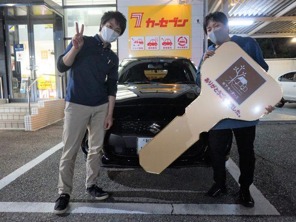 スイフトご購入ありがとうございました(*^^)v