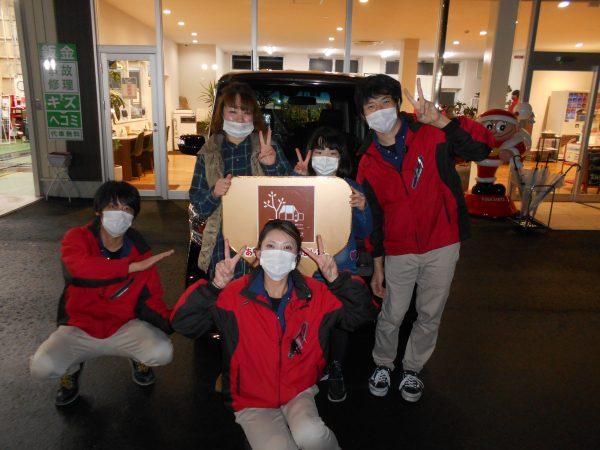 N-BOXご購入ありがとうございました(*^^)v