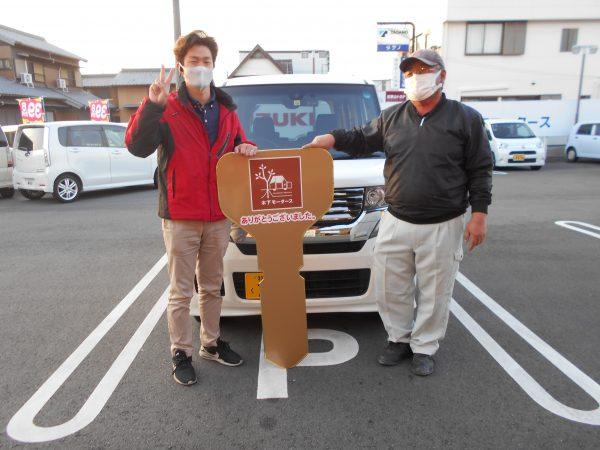 N-BOXカスタムご購入ありがとうございました(*^^)v