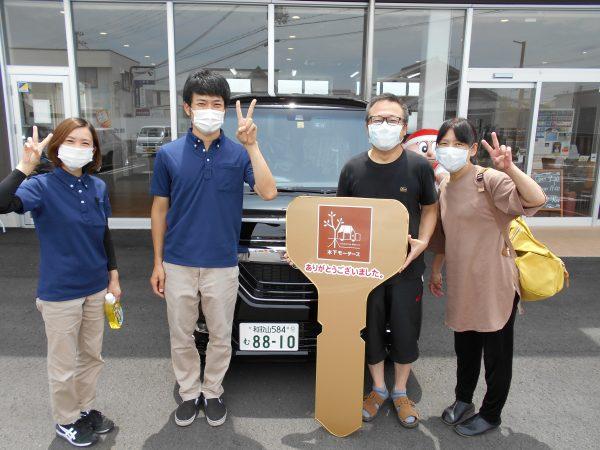 新車N-BOXご購入ありがとうございました!