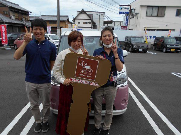 新車キャンバスご購入ありがとうございました!